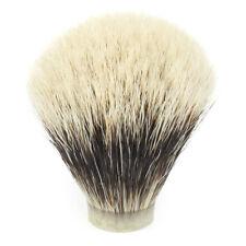 Two-Band Badger Hair Shaving Brush Knot (20mm x 63mm)