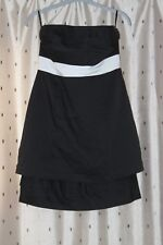 Vila Vita Strapless Lined Cotton Mix Dress ~ Size S ~ New With Tags
