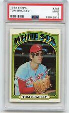 1972 TOPPS BASEBALL #248 TOM BRADLEY, CHICAGO WHITE SOX - PSA 9 MINT (45819)