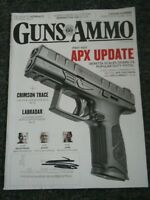Magazine GUNS & AMMO October 2018 BERETTA APX Centurion & APX Compact 9mm/.40S&W