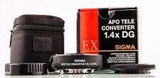 Sigma AF APO Tele Converter 1,4x EX DG Sony A-mount SHP 68195