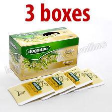 3 Boxes x 20 bags Linden Ihlamur Tea Instant Most Famous brand Dogadan