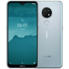 Nokia 6.2 64GB Smartphone Dual-SIM Android back ice FHD+ 16MP 6,3""