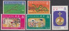 HONGKONG, 1977 Neujahr 329/30, Regentschaft 331/33 **, (18379)