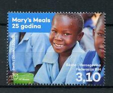 Bosnia & Herzegovina 2017 Mnh Mary's Meals 25 Yrs 1v Set Humanitarian Aid Stamps