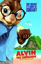 POSTER LOCANDINA FOTO ALVIN SUPERSTAR AND THE CHIPMUNKS 2 3 SI SALVI CHI PUO' #4