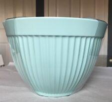 Aqua Blue Cynthia Rowley Mixing Bowls Set Of Three Turquoise Vintage Large 4 Qt