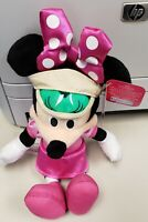 """Disney Minnie Mouse Stuffed Plush Doll 11 Inches 11"""" New"""