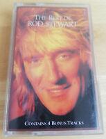 Rod Stewart –The Best Of Rod Stewart Warner Bros. Records Cassette Album