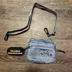 Supreme Chocolate Chip Blue Shoulder Bag Ss20 New In Bag Sold Out