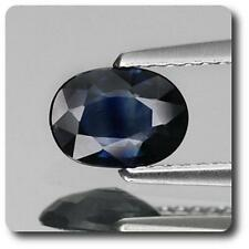 SAPPHIRE BLUE 0.80 cts. VVS Non heated. Chanthaburi, Thailand. With Certificate