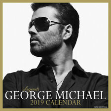 2019 GEORGE MICHAEL SQUARE CALENDAR WALL CALENDER