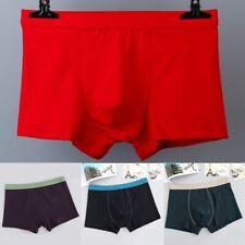 XL-9XL Men Breathable Cotton Underwear Boxer Briefs Shorts Bulge Pouch Underpant
