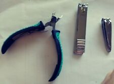 New (2) nail clippers And cuticle nippers/ trimmer