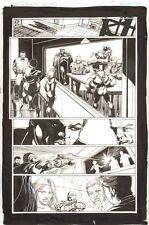 Convergence Suicide Squad #1 p.17 Amanda Waller Deadshot Boomerang Tom Mandrake Comic Art