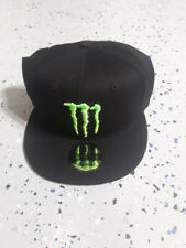 Monster Energy New Era 9Fifty Athlete Snapback Hat Cap Black MX SX Racing
