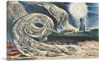 ARTCANVAS Circle of the Lustful Canvas Art Print by William Blake
