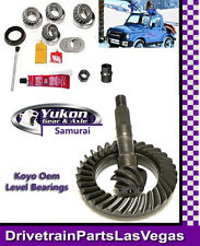 Suzuki Samurai Yukon Ring and Pinion w Master Bearing Install Kit 4.57 Ratio New