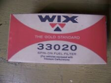 Wix Spin-On Fuel Filter #33020, Atv's and Snowmobiles