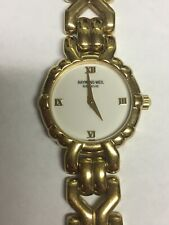 """Raymond Weil Ladies """"Geneve"""" Watch (18K Gold Electroplated)"""