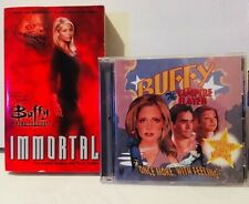 BUFFY the VAMPIRE SLAYER Immortal Paperback / Soundtrack CD Once more w/ feeling