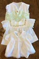 Mixed Lot of 4 Vintage Baby Doll Dresses ~ Alexis / Sasson Brothers