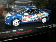 1:43 Ixo Peugeot 307 WRC Criterium des Cevennes 2007 Henry/Lombard #2 VP