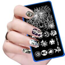 Halloween Manicure Nail Art Image Template Stamping Polish Print Plate Stamper