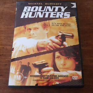 Bounty Hunters Michael Dudikoff DVD R4 Like New! FREE POST