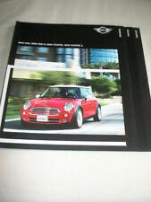Mini One, One D, Cooper & Cooper S range brochure 2005 German text