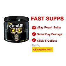 Cobra Labs The Curse Pre-Workout LEMON RUSH 50 Serves FREE    EXPRESS POST