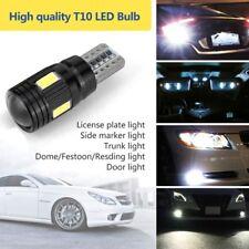 2Pc 12V T10 W5W 6 LED SMD 5730 Wedge Lights High Power Car LED Parking Fog Lamp