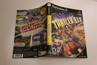 Thrillville PS2 replacement cover art insert only! original