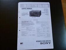 Service MANUAL Sony ta-717/717 M 818/818 M