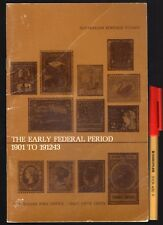 AUSTRALIAN POST OFFICE Stamp Collecting THE EARLY FEDERAL PERIOD 1901 to 1912-13