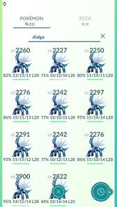 Pokemon Legendary Go Dialga Same Day Trade Or 30 Day