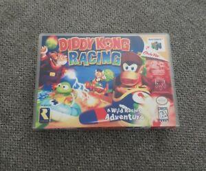 Diddy Kong Racing N64 Custom Box No Game Nintendo