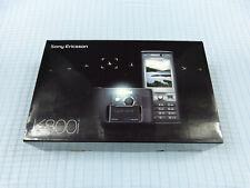 Sony Ericsson K800i Schwarz! NEU & OVP! Unbenutzt! Ohne Simlock! Selten! RAR!