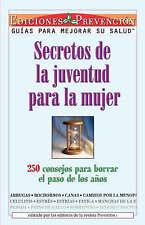 NEW Secretos De La Juventud Para La Mujer (Youth Secrets for Women)