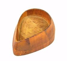 Antique Wood Hat Crown Block Mold Unique Millinery Form 7 1600 PG
