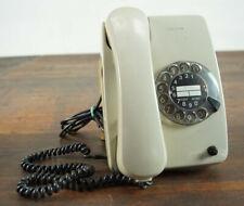 70er Vintage Post Telefon Wählscheibentelefon Schnurtelefon Retro grau 60er