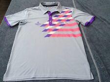 ADIDAS Men's M Golf polo shirt jersey top ROYAL PINES Tour club Links PGA