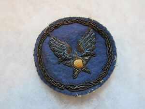 WWII US Army Air Corps BULLION patch