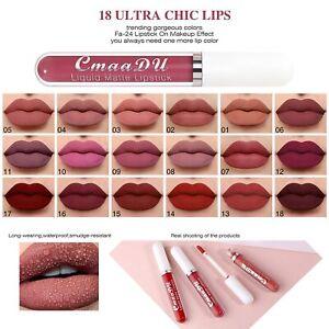 2021 New Lip Stick Matte Liquid Lipstick Makeup Waterproof Long Lasting Cosmetic
