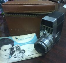 Vintage BELL & HOWELL ZOOMATIC Director Series 8mm Movie Camera Model 414-414-p