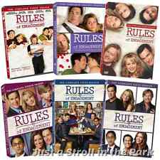 Rules of Engagement TV Series Complete Seasons 1 2 3 4 5 6 Box / DVD Set(s) NEW!
