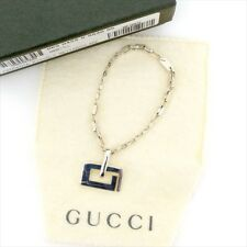 23d985734a7dd Gucci key ring Key holder G logos Silver Woman unisex Authentic Used T4413