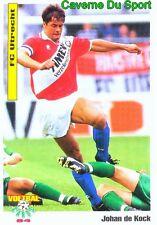 068 JOHAN DE KOCK FC.UTRECHT NETHERLANDS VOETBAL CARD 94 PANINI