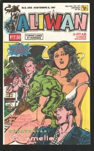 Aliwan Komiks 11/9/1997-Romance & adventure stories-Published in Philippines-...