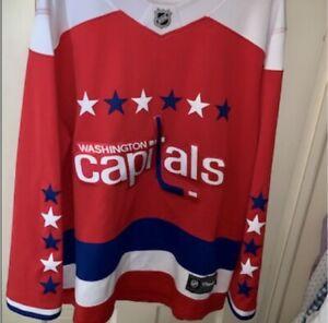 NWT Fanatics Washington Capitals Red Alternate Jersey Size 4XL